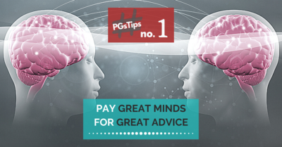 Pay Great Minds For Great Advice