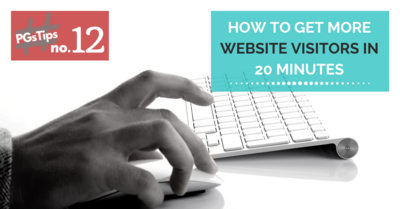 How To Get More Website Visitors In 20 Minutes