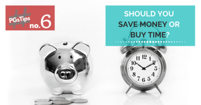 Should You Save Money Or Buy Time?